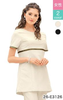 セオアルファのなめらかストレッチで汚れに強い。動きやすくて美しいシロタコーポレーションの白衣