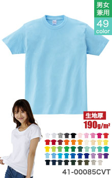 ヘビーウエイトTシャツ 男女兼用(41-00085CVT)