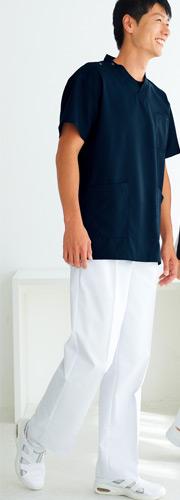 ケーシーズボンとしても利用できるホワイセルの男性用・医療用ズボン