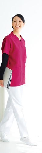 スクラブにもケーシーにも合わせられる女性用・医療用ズボン