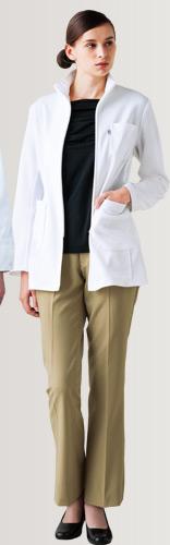 安くてすっきりしたシルエットの女性用医療ズボン
