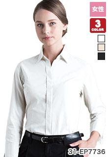 チトセの七分袖シャツ(31-EP7736)の商品画像