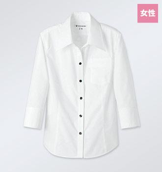 七分袖シャツ(35-WH7613)