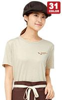 オリジナルの刺しゅう・プリントができるシンプルな男女兼用ユーロTシャツ(34-MS1141)