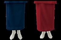 簡単に着用できる和風ラップスカート