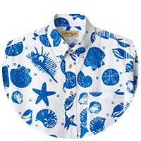 単色・シンプルなアロハシャツ