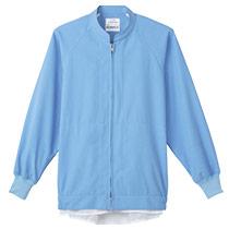 当店で一番おすすめ!高温作業場向けサックス色の長袖ジャンパー(33-CD620)