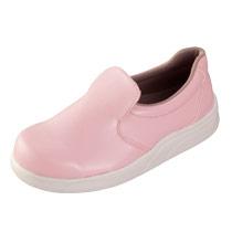 抗菌・防臭加工で清潔なピンク色のシェフメイト(33-S105)