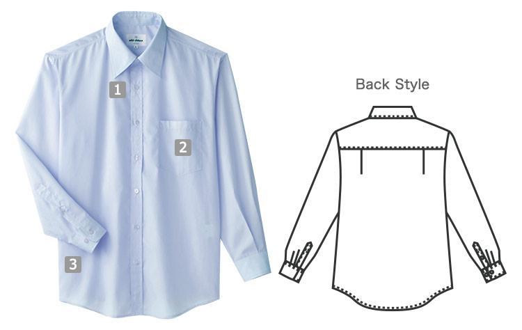 長袖シャツの商品詳細
