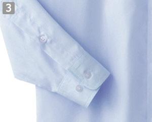 長袖シャツのポイント�2つボタンの袖口