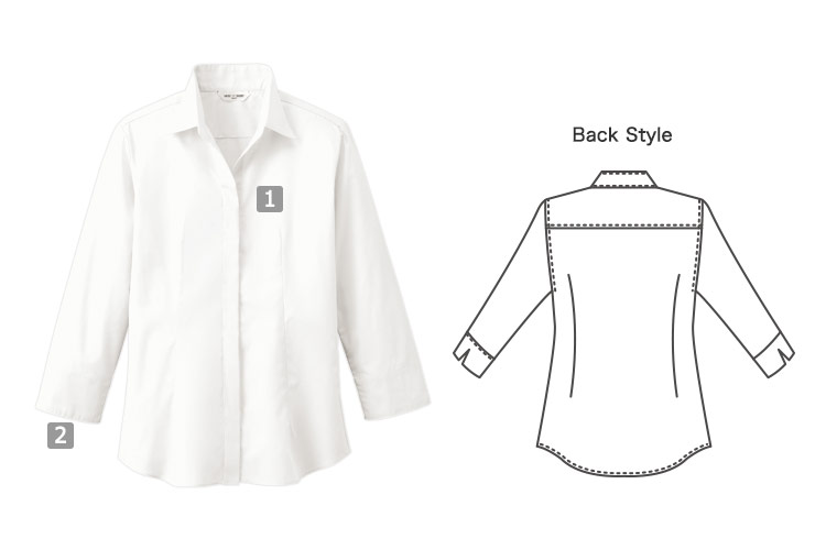 七分袖シャツ(31-EP7736)の商品詳細