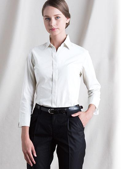 チトセのシャツ(七分袖)(31-EP7736)のポイント画像