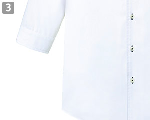 ボタンダウンシャツのポイント�七分袖