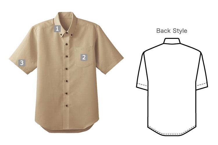 半袖ボタンダウンシャツ(32-33308)のおすすめポイント
