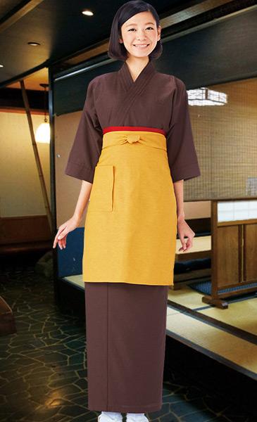 作務衣スカートスタイル