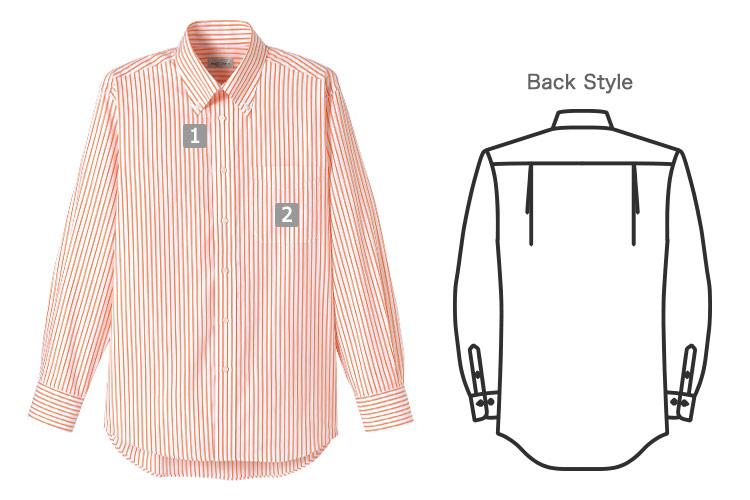 ストライプシャツの商品詳細