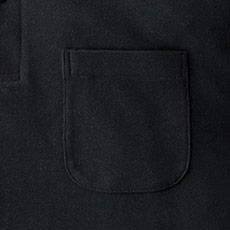 ポケット付きポロシャツで小物が入れられて便利(34-ms3115)