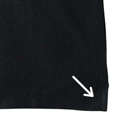 上半身がツッパりにくい両脇スリット入り(34-ms3115)