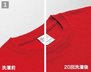 ヘビーウェイトTシャツのポイント�品質とタフネス性を両立
