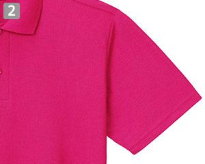 カジュアルポロシャツのポイント�動きやすい袖口
