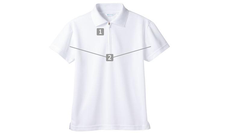袖口ネット付きポロシャツ(71-2-571)の商品詳細