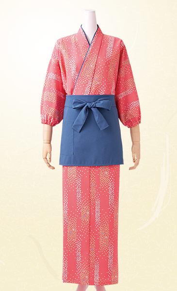 モンブランの茶羽織スカートコーディネート画像