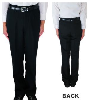 男女兼用黒パンツ(71-GV7501)の画像