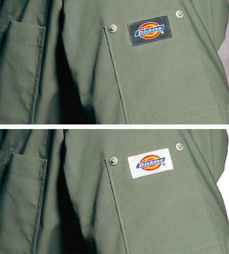 ディッキーズロゴ入りリペットポケット