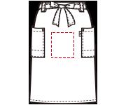 腰下エプロン中央の加工位置はこちらになります