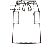左(右)腰下の加工位置はこちらになります