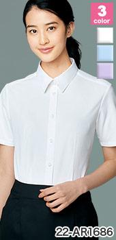 ALPHAPIER(アルファピア)事務服 おすすめのオフィス制服向けシャツ・ブラウス 22-ar1686