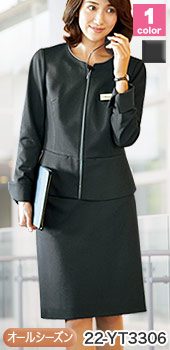 スリムに見える美ライン、ALPHAPIER(アルファピア)のタイトスカート 事務服22  -YT3306