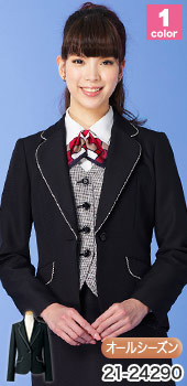 SELERY(セロリー)事務服 お洒落なブラックジャケット 89-24290