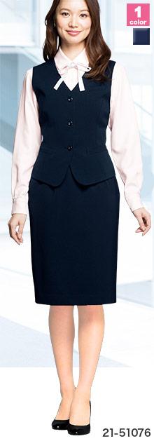 EN JOIE(アンジョア)の事務服 スカート 21-51076
