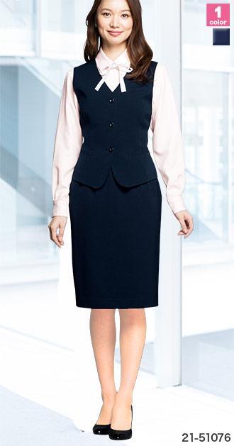 EN JOIE(アンジョア)の事務服 セミタイトスカート 21-51076