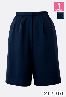 EN JOIE(アンジョア)の事務服 脇ゴムで快適なキュロットスカート 21-71076