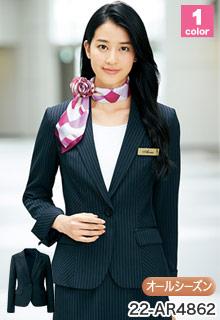 ALPHAPIER(アルファピア)事務服 高機能のオフィス制服 スーツ・ジャケット 22-ar4862