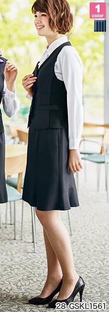 GROW(グロウ)の事務服 マーメイドスカート 28-gskl1561