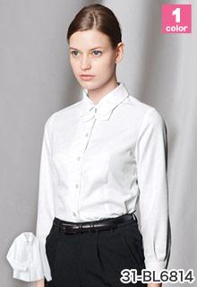 arbe(チトセ)の事務服 リボンが可愛い長袖ブラウス 31-bl6814
