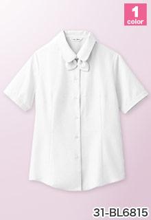 オフィス制服におすすめ!安い事務服 チトセ 半袖ブラウス 31-bl6815