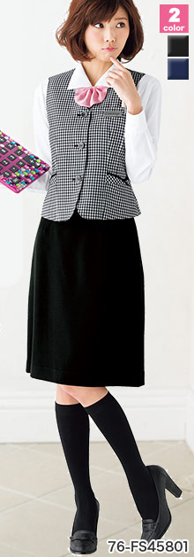FOLK(フォーク/NUOVO)の事務服 Aラインスカート 76-fs45801