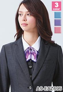 カーシーカシマ(enjoy)の事務服 リボン a9-eaz695