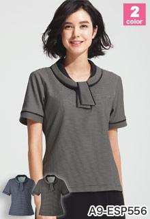 ボーダーポロシャツ(A9-ESP556)