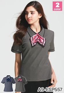 ポロシャツ カーシーカシマ(enjoy)の事務服 A9-ESP557