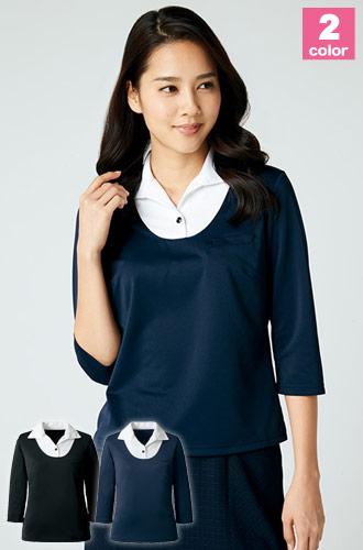 七分袖プルオーバーシャツ(22-NF1038)