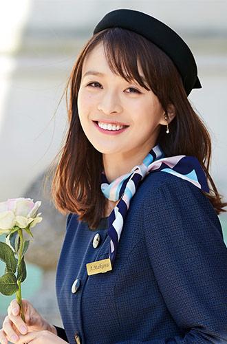 EN JOIE(アンジョア)の事務服 華やかな帽子 21-op501