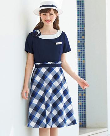 EN JOIE(アンジョア)事務服 大人可愛い人気の春夏オフィス制服