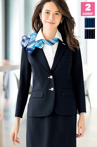 BONMAX(ボンマックス)の事務服 イージーケアの七分袖ジャケット 34-lj0762