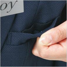 ジャケット A9-EAJ678 Wネームループ付き胸ポケット