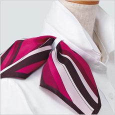 半袖ブラウス A9-ESB594 スカーフループ